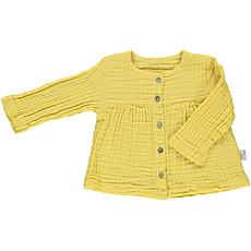 Achat Hauts bébé Blouse 5 boutons - Cream Gold - 3 mois