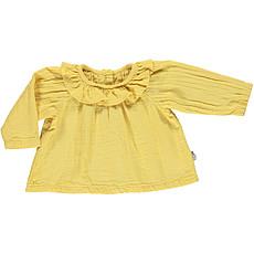 Achat Hauts bébé Blouse col volant - Cream Gold