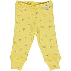 Achat Bas bébé Legging - Cream Gold + AOP
