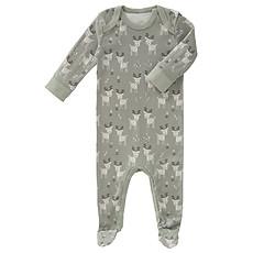 Achat Pyjama Pyjama avec Pied Cerf - Kaki