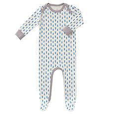 Achat Pyjama Pyjama avec Pied Noeud - Bleu