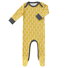 Achat Body & Pyjama Pyjama avec Pied Plume - Jaune