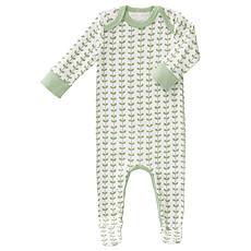 Achat Pyjama Pyjama avec Pied Feuilles - Vert