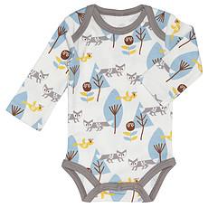 Achat Body & Pyjama Body Manche Longue Renard - Bleu