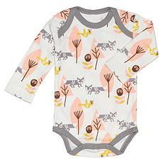 Achat Body & Pyjama Body Manche Longue Renard - Rose