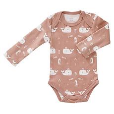 Achat Body & Pyjama Body Manche Longue Baleine - Rose