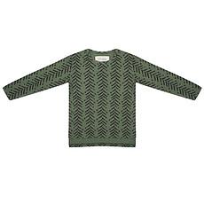 Achat Hauts bébé Tee-Shirt manches longues Arrow up Kaki - 0/6 mois