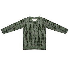 Achat Hauts bébé Tee-Shirt manches longues Arrow up Kaki - 18/24 mois