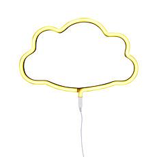 Achat Suspension  décorative Lampe Neon Nuage - Jaune
