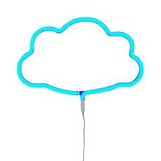 Achat Suspension  décorative Lampe Neon Nuage - Bleu