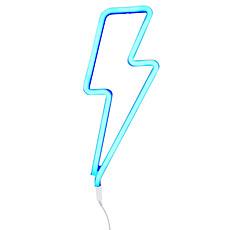 Achat Suspension  décorative Lampe Neon Eclair - Bleu