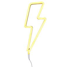 Achat Suspension  décorative Lampe Neon Eclair - Jaune