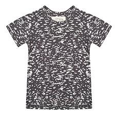 Achat Hauts bébé Tee-Shirt manches courtes Burnout Noir - 0/6 mois