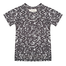 Achat Hauts bébé Tee-Shirt manches courtes Burnout Noir - 18/24 mois