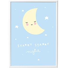 Achat Objet décoration Poster Lune - 50 x 70 cm