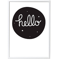Achat Affiche & poster Poster Hello - 50 x 70 cm