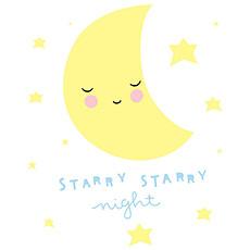 Achat Sticker Sticker Mural Lune