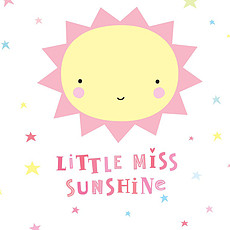 Achat Sticker Sticker Mural Miss Sunshine