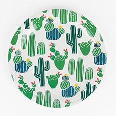 Achat Vaisselle & Couvert Assiettes Cactus (x 8)