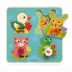 Achat Mes premiers jouets Croc-Carrot - Puzzle Gros Boutons