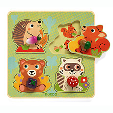 Achat Mes premiers jouets Croc-Nut - Puzzle Gros Boutons