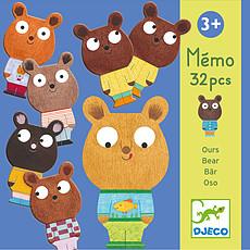 Achat Mes premiers jouets Mémo Ours