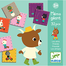 Achat Mes premiers jouets Mémo Géant - Les Amis