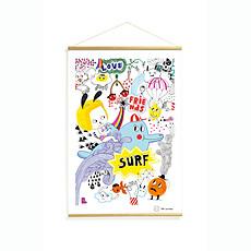 Achat Objet décoration Surf's Party Kakemonos