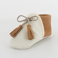 Achat Chaussures Chaussons COLIBRI - Ecru / Camel