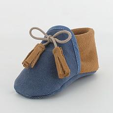 Achat Chaussures Chaussons COLIBRI - Bleu / Camel