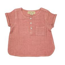 Achat Hauts bébé Blouse Manche Courtes - Rose Blush - 3/4 ans