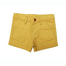 Achat Vêtement layette Petit Short - Moutarde