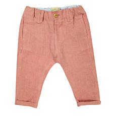 Achat Bas bébé Pantalon Chino - Rose Blush