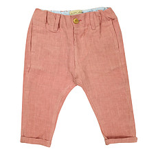 Achat Vêtement layette Pantalon Chino - Rose Blush