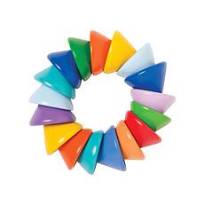 Achat Anneau de dentition Jouet dentition Baby Cones - Multicolore
