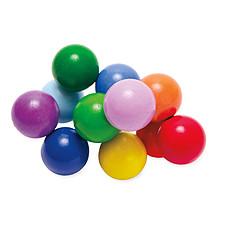 Achat Anneau de dentition Jouet dentition Perles en Bois - Multicolore
