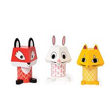 Achat Mes premiers jouets Mix & Match - Renard, Lapin et Chat