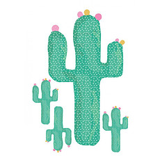 Achat Sticker Mini Stickers Cactus