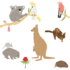 Achat Sticker Stickers Australiana - Small