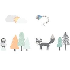 Achat Sticker Stickers Renard & Cie - Small