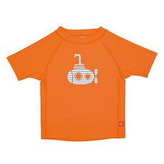Achat Maillot de bain T-Shirt de Bain Manches Courtes - Orange/Sous-Marin