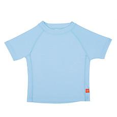 Achat Maillot de bain T-Shirt de Bain Manches Courtes - Bleu Clair