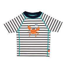 Achat Maillot de bain T-Shirt de Bain Manches Courtes - Marin