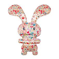 Achat Hochet Funny Bunny Doudou Hochet Fleurs Rouges 24 cm