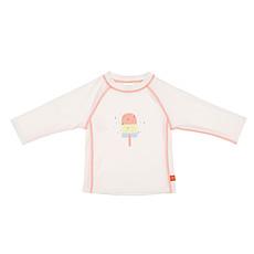 Achat Vêtement layette T-Shirt de Bain Manches Longues - Blanc/Glace