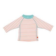 Achat Accessoires Bébé T-Shirt de Bain Manches Longues F - Marin Pêche - 6 mois