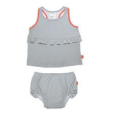 Achat Vêtement layette Maillot de Bain 2 Pièces - Polka Gris