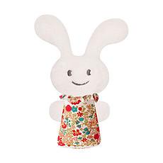 Achat Hochet Hochet Pouet Pouet Funny Bunny Fleurs Rouges 12 cm