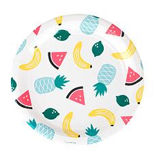 Achat Anniversaire & Fête Assiettes - Fruits Exotiques (x8)