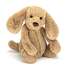 Achat Peluche Bashful Toffee Puppy Medium